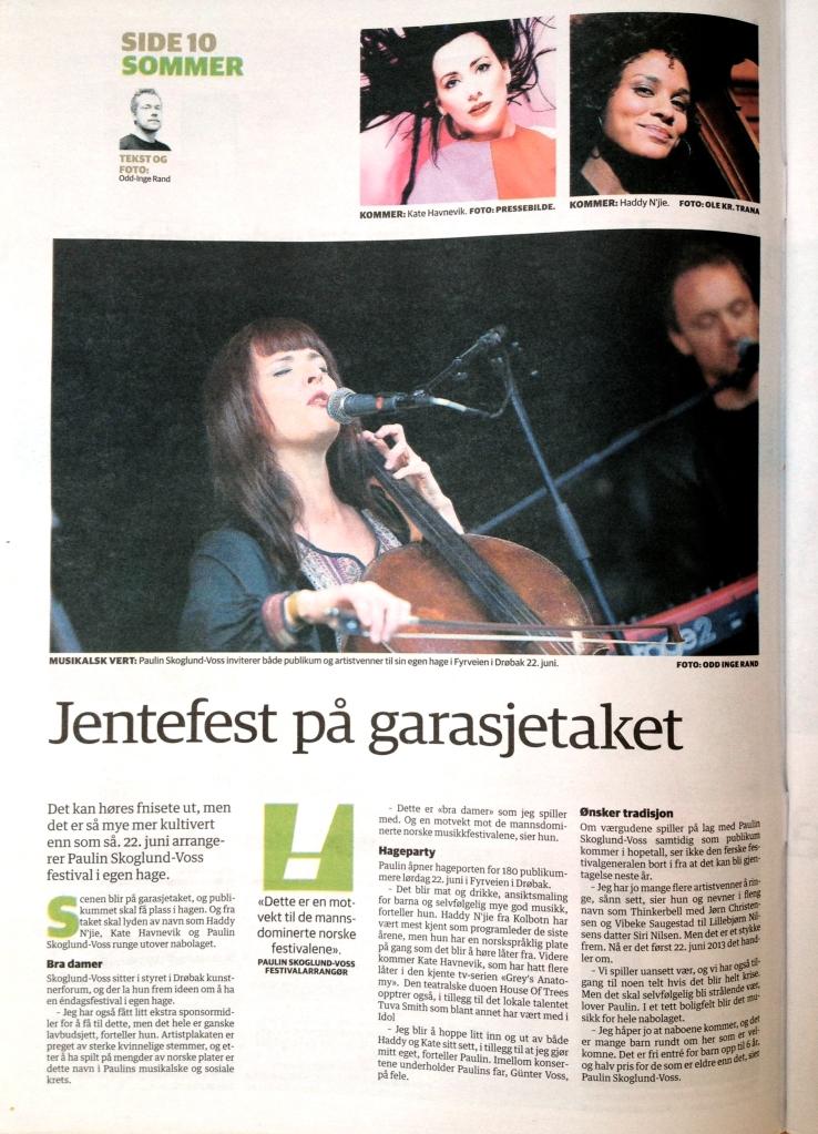 Takfestivalen 2013