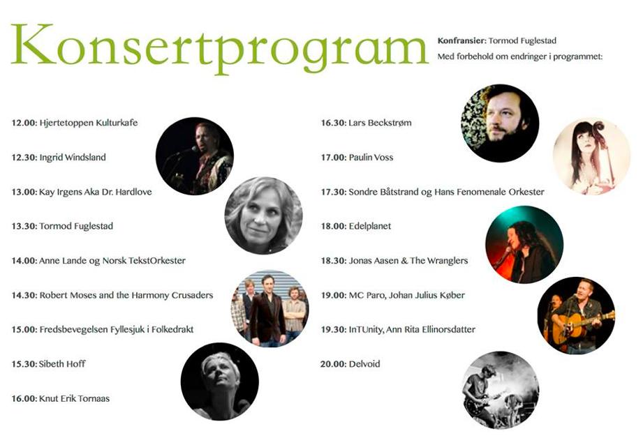 Grønn Festival på Hellviktangen i dag!