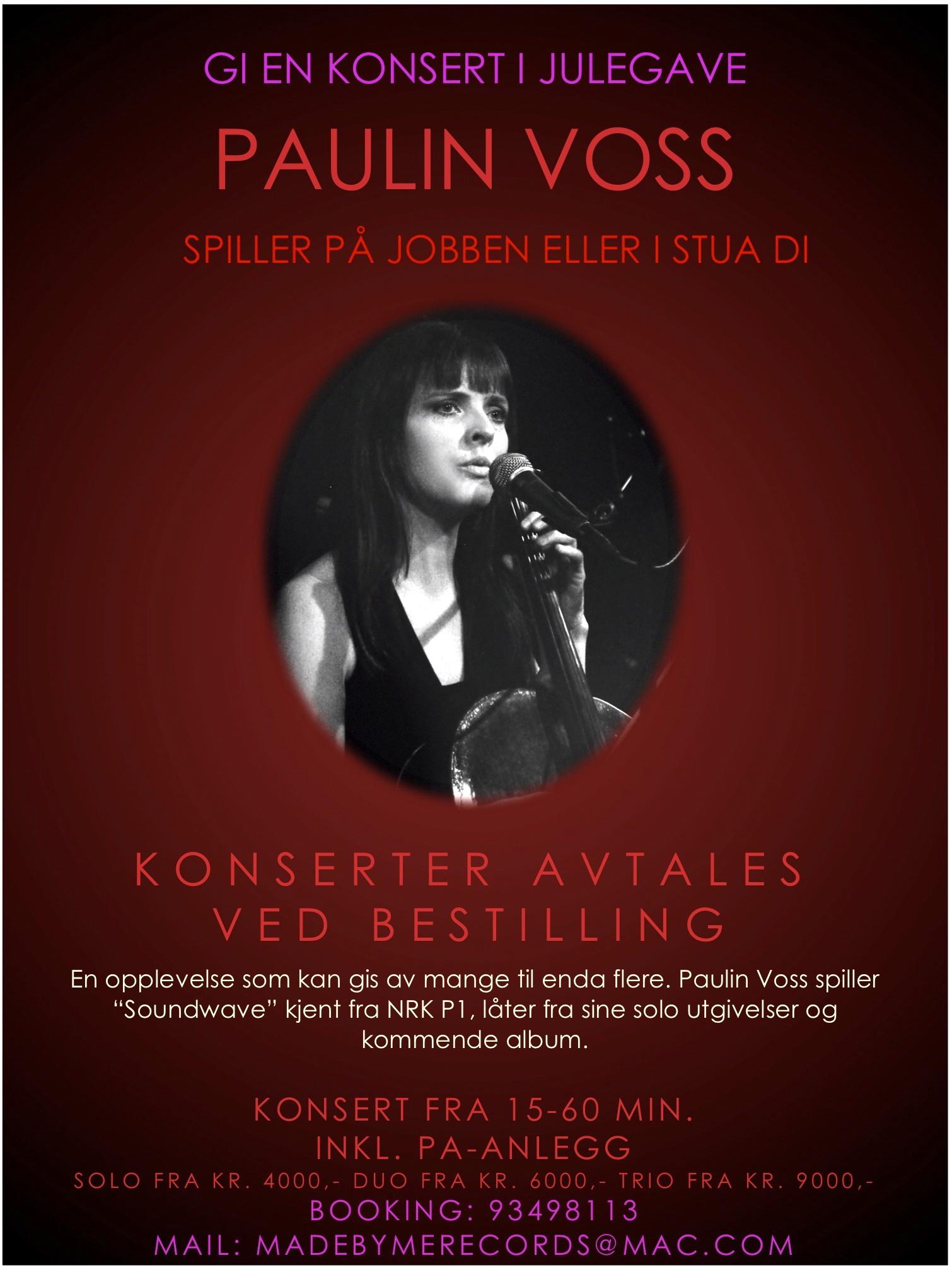 Gi en konsert i julegave!