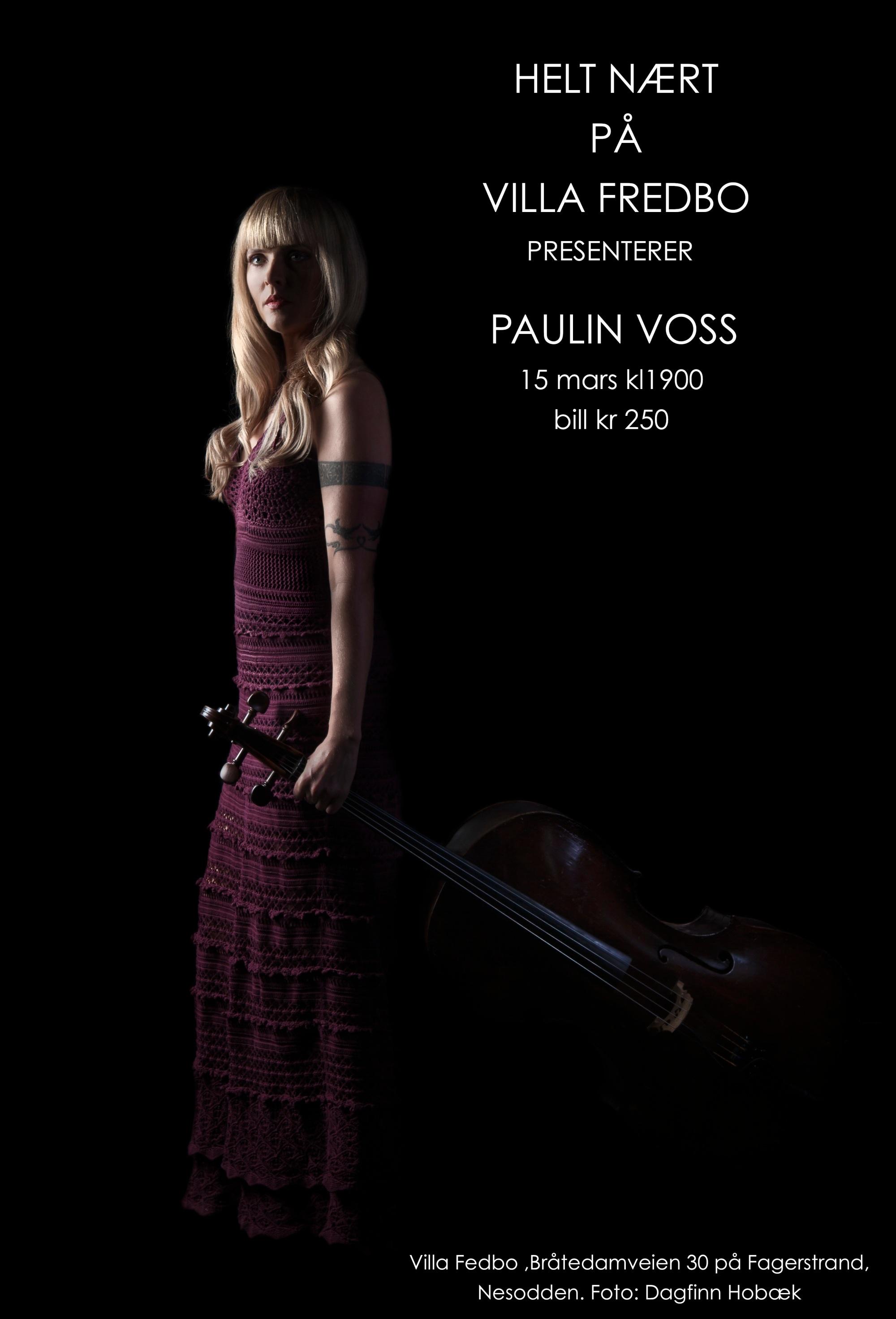 Villa Fredbo presenterer Paulin Voss