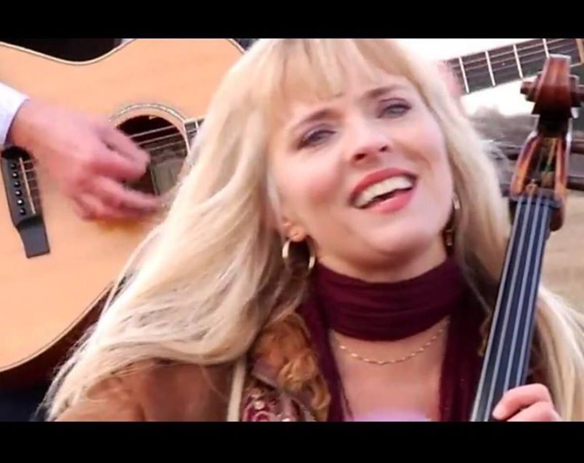 Screenshot from music video shoot